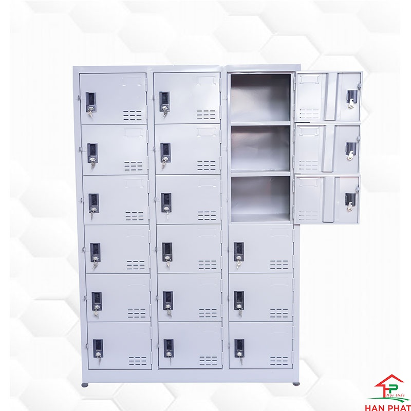 Tủ locker 18 cánh