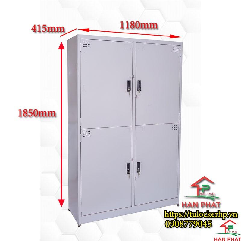 Tủ locker 4 cánh