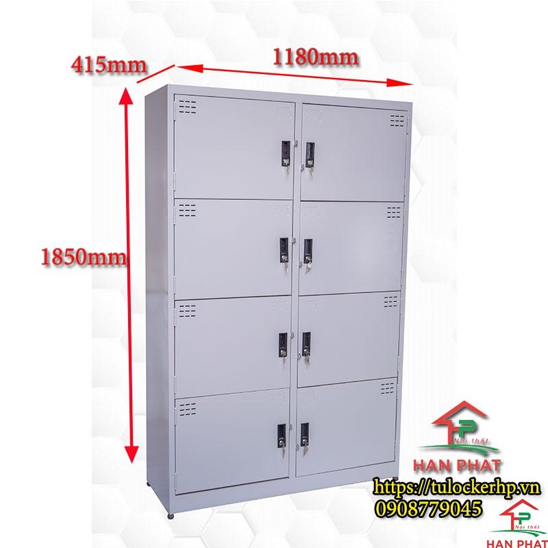 Tủ locker 8 cánh