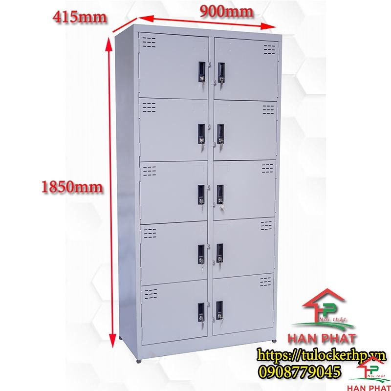 Tủ locker 10 ngăn