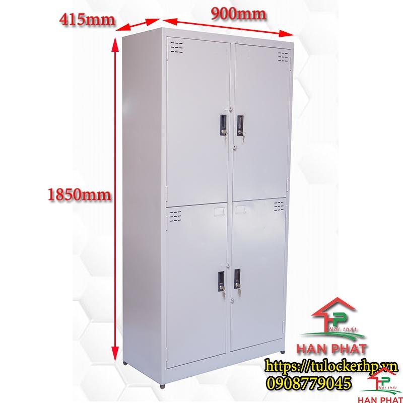 Tủ locker 4 ngăn